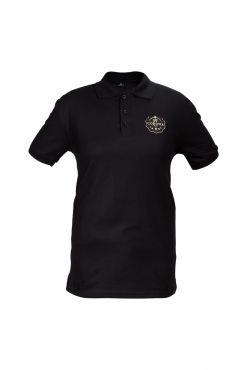 Corona Polo T-shirt Black
